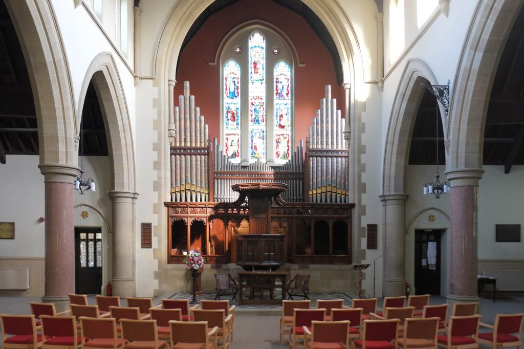 Our Refurbished Church with Chairs